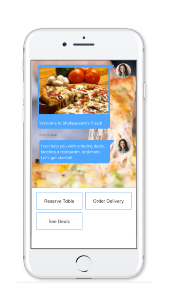 Mobile Delivery Chatbot